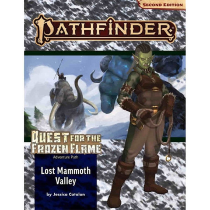 Pathfinder RPG 2nd Edition: Adventure Path #176 - Lost Mammoth Valley (Quest for the Frozen Flame 2 of 3) (PREORDER)
