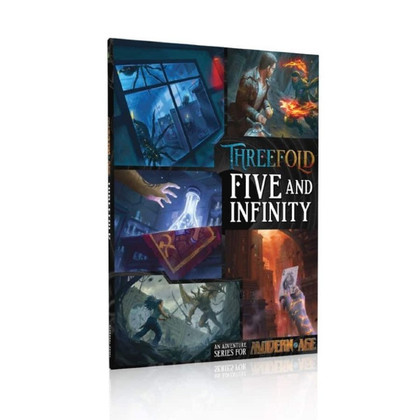 Modern Age RPG: Threefold - Five and Infinity (PREORDER)