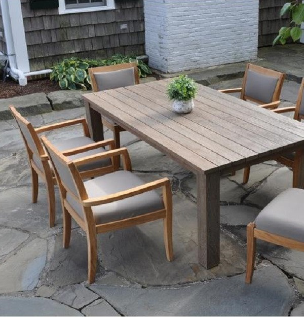 Galvanized Patio Furniture.Tuscany Dining Collection Kingsley Bate Outdoor Patio Furniture