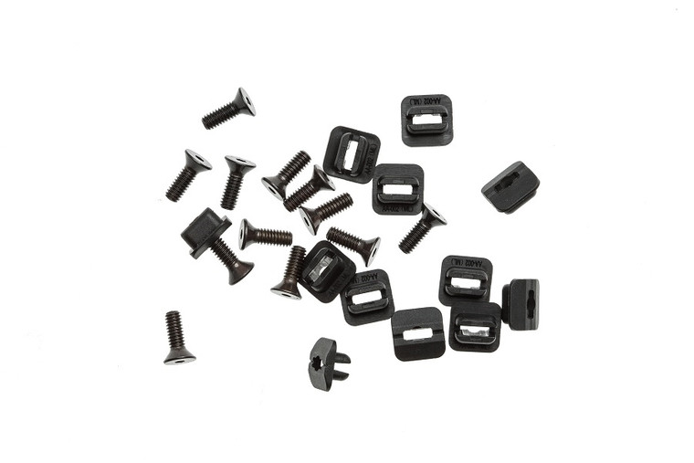 Replacement  MLOK CMR Accessory Screws/Nuts - 10 Pack