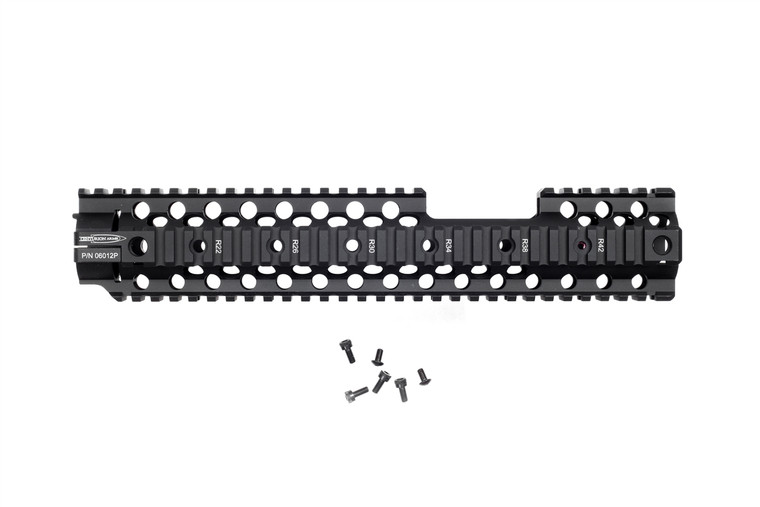 C4 Rail, 12in Front Sight Pocket Rail Handguard