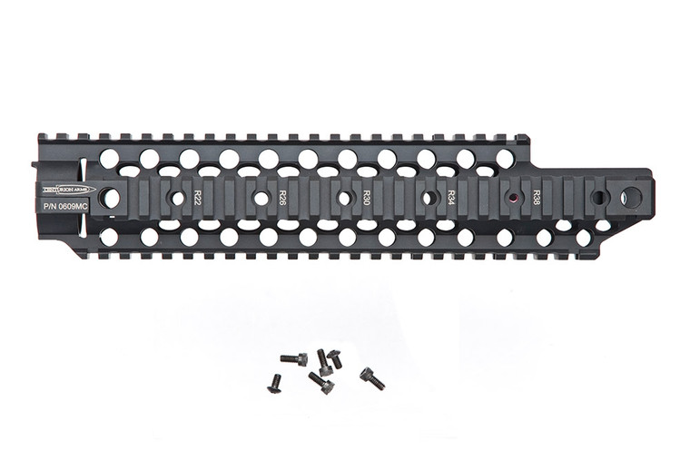 C4 Rail, Mid Length Cutout Rail Handguard