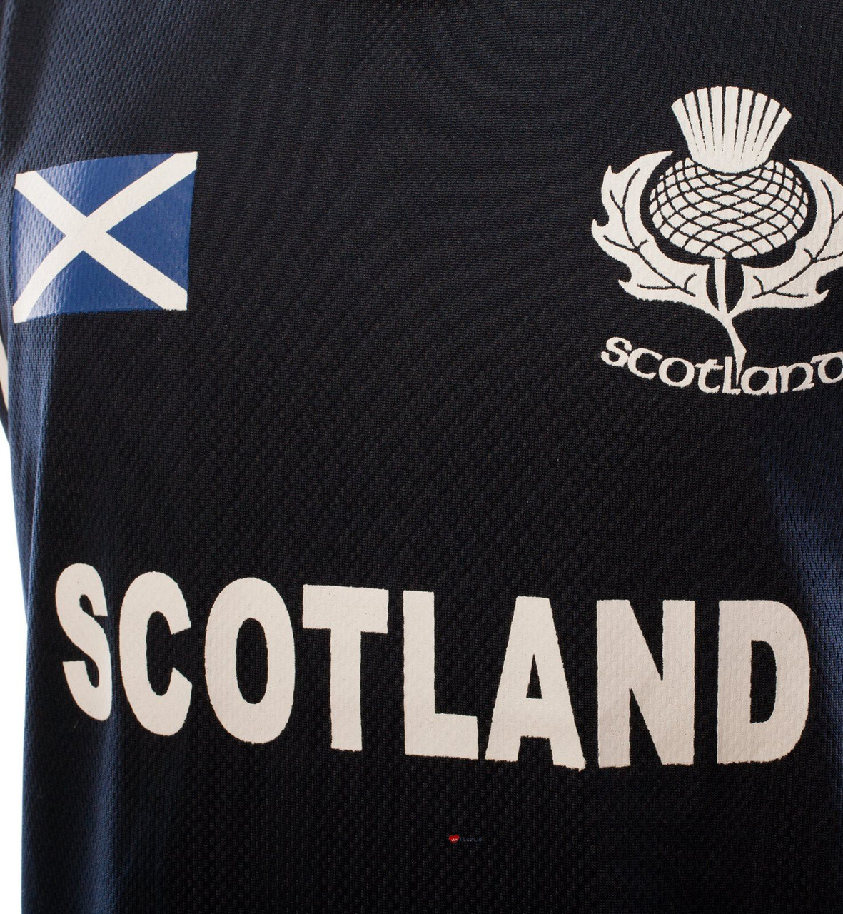 Children/'s Scotland Sports Kit Navy T-shirt White Shorts 02-03 Years