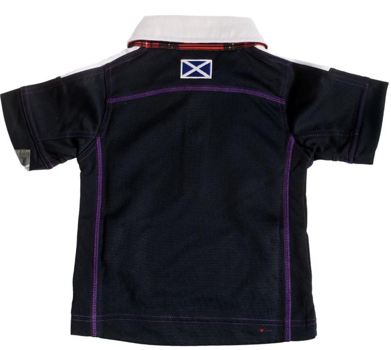 7e2c29d601ed ... Kids Scotland Rugby Shirt With Thistle Logo Design In Navy White Size 11 -12 Years