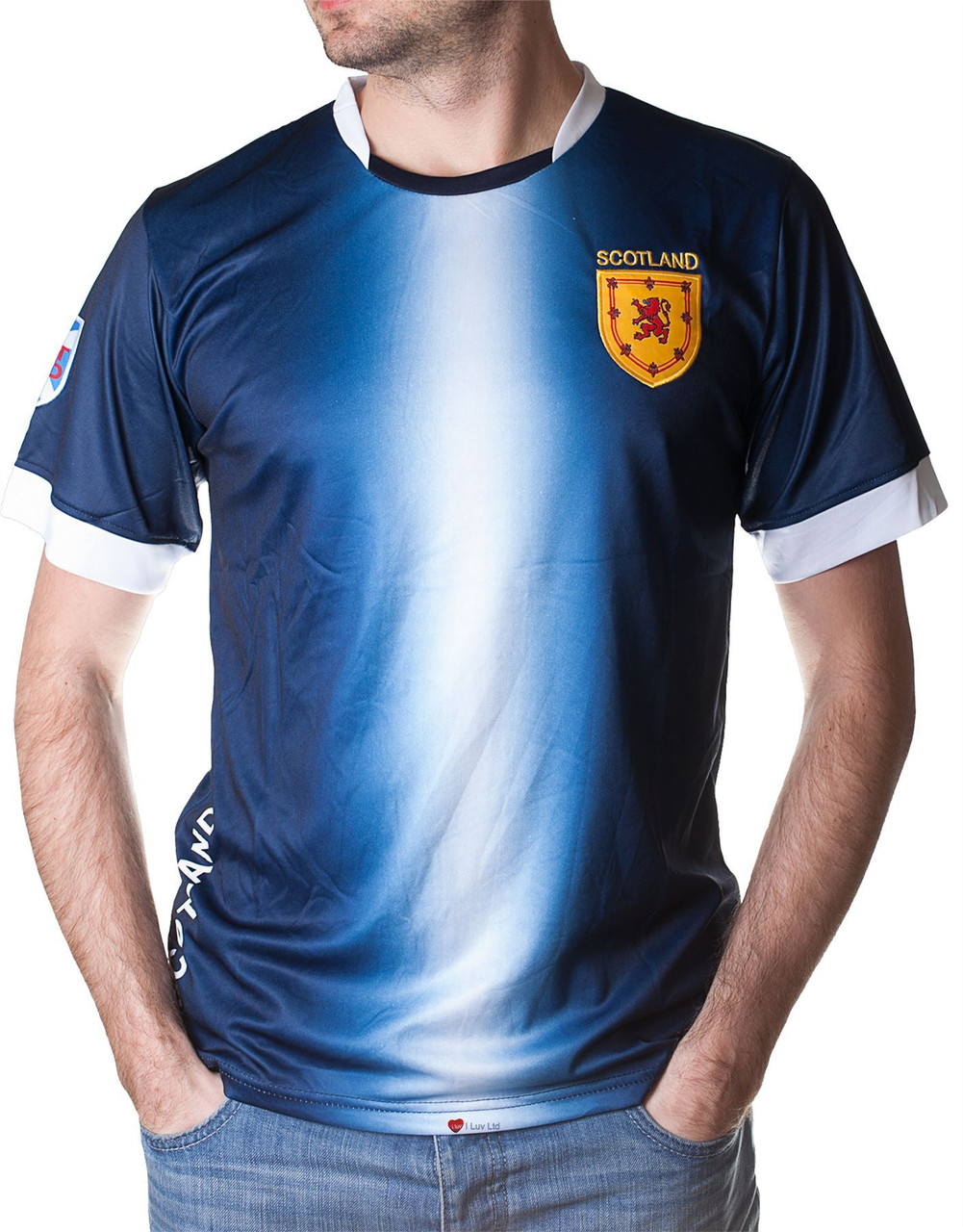 5c27faeb24c4 Adults football Jersey Navy White - ILuvSports.co.uk