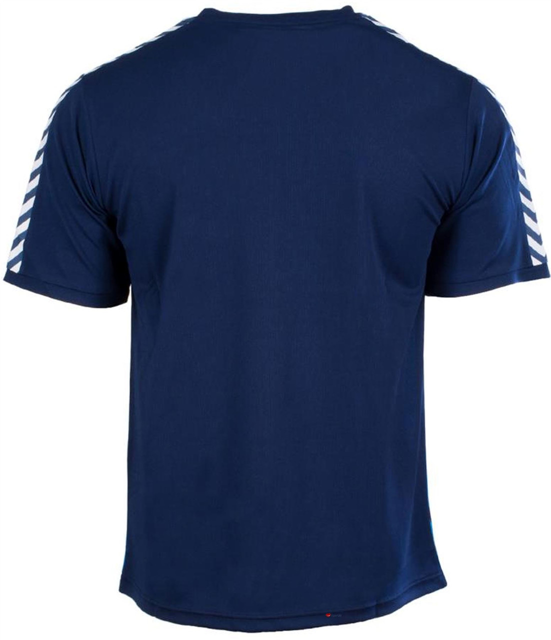 5ab30c2f46e Men'S Striped Scotland Football Top Navy-Sky Blue - ILuvSports.co.uk