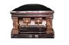 Heritage Bronze  Casket with Cream Velvet Interior - Metal Casket