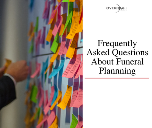 Frequently Asked Questions About Funeral Planning