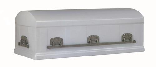 Silver Slate Burial Vault - 12 Gauge Steel