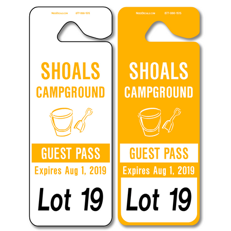 Car Rider Hang Tags allow endless design possibilities and project a professional image. Available in over 30 Stock Ink Colors or unlimited custom colors. These durable Parking Hang Tags are printed on heavy duty .035 inch material to give you the strongest parking permit available. Order today and get Free Setup, Free Numbering and Free Logo.