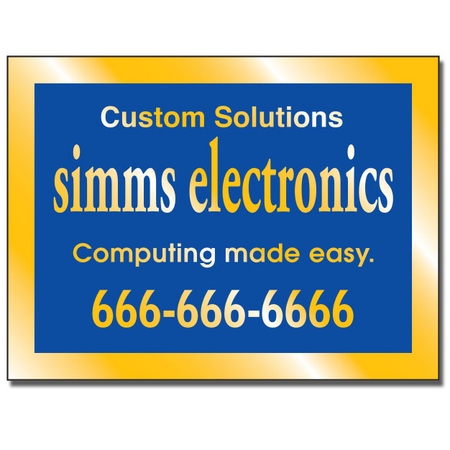 Aluminum Labels are often used by manufacturers to brand their products. Service industry businesses place them on equipment they have installed or serviced.