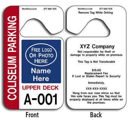 Custom Hang Tags allow endless design possibilities and project a professional image.