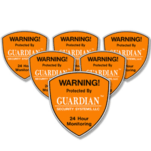 Security System Decals - 6 Pack - help protect your home or business even if you do not have an alarm system. We recommend security system decals be placed on all first floor doors and windows.
