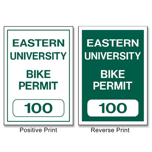 Bike Permit - Bicycle - Motorcycle Permits