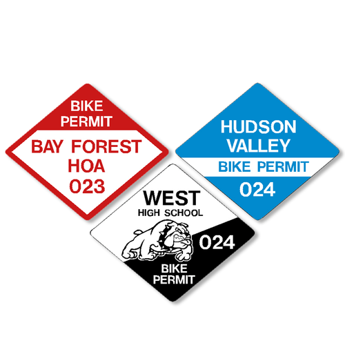 Diamond Bike Permit - Bicycle - Motorcycle Permits
