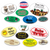 Medium Oval Roll Labels - ONE Color (Per 1,000)