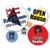 Medium Round Sticker Labels - TWO Color (Per 1,000)