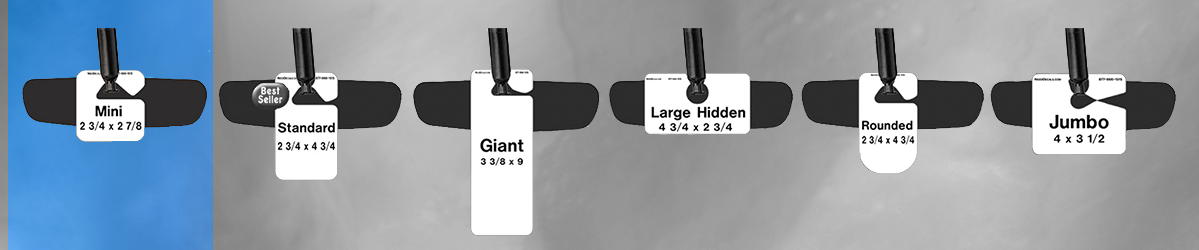 Mini Parking Permit Hang Tags