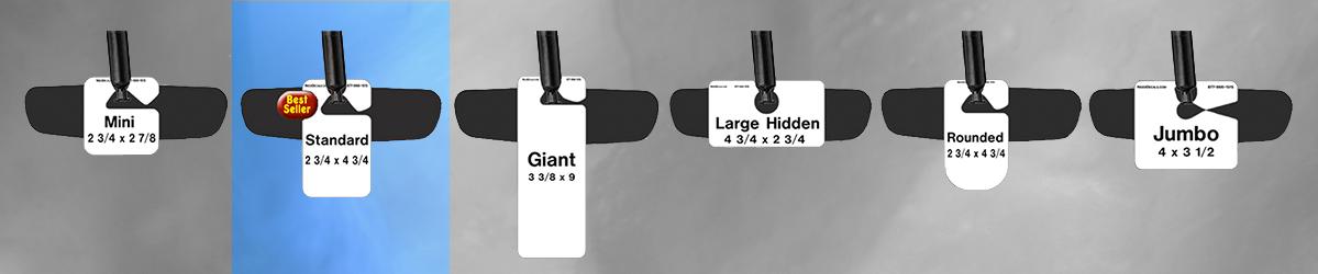 Standard Parking Hang Tag