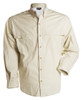 100% Cotton Fishing Shirt - Dusky Bone