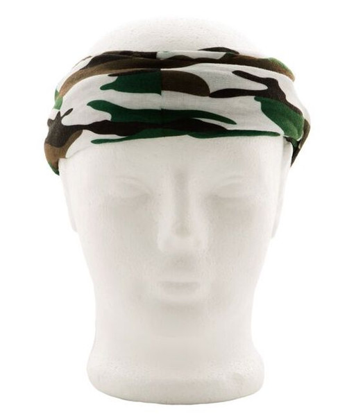 Green Camo Face Shield