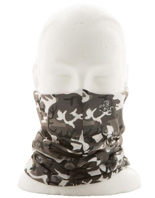 Grey Camo Face Shield