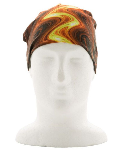 Red Lava Face Shield