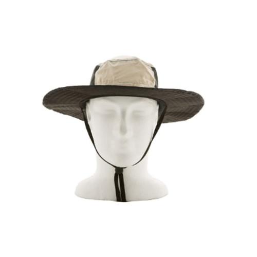 Wide Brim Hat - Dusky Bone