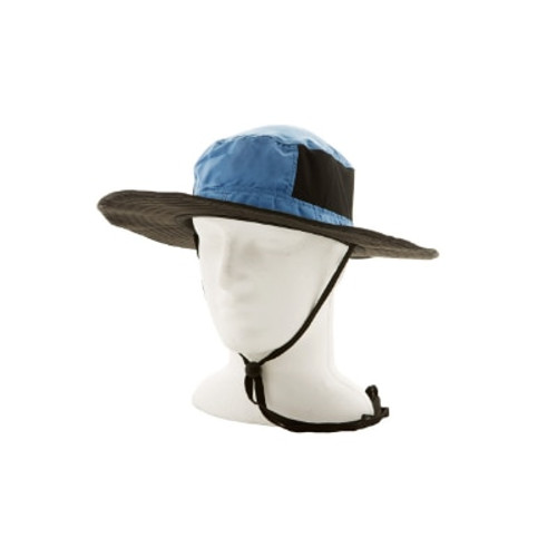 The extra wide brim on these hats provide great protection from the harsh sun.   Designed to adjust to any head size - they are perfect for children and adults and the vents in the side allow the breeze to cool your head.
