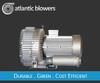 "Atlantic Regenerative Blower, 3HP, 230V, 1Phase, 60hz 155cfm@110"" pressure"