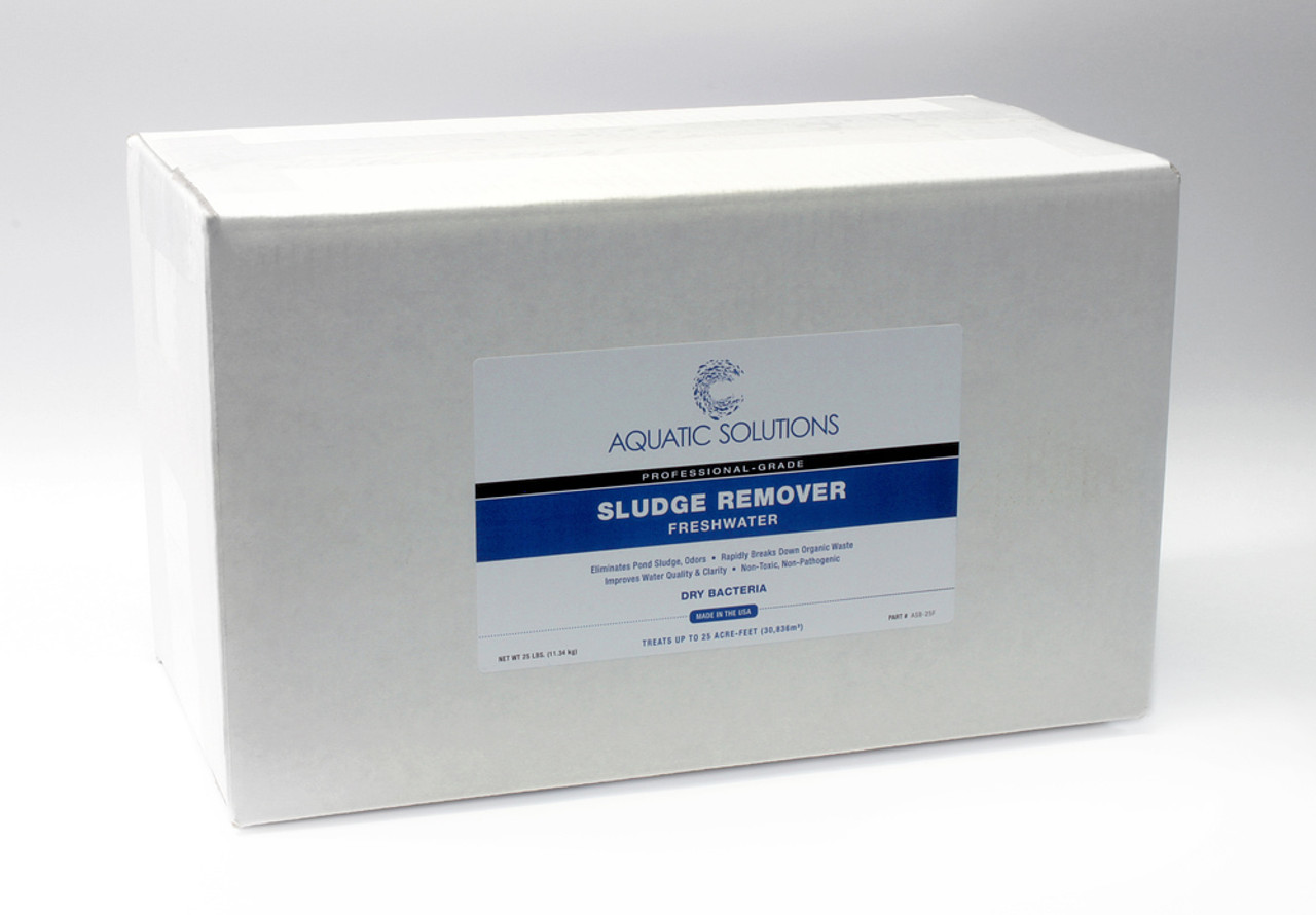 Aquatic Solutions Sludge Removing Bacteria 25lb. Bulk Box, Freshwater (ASB-25F)