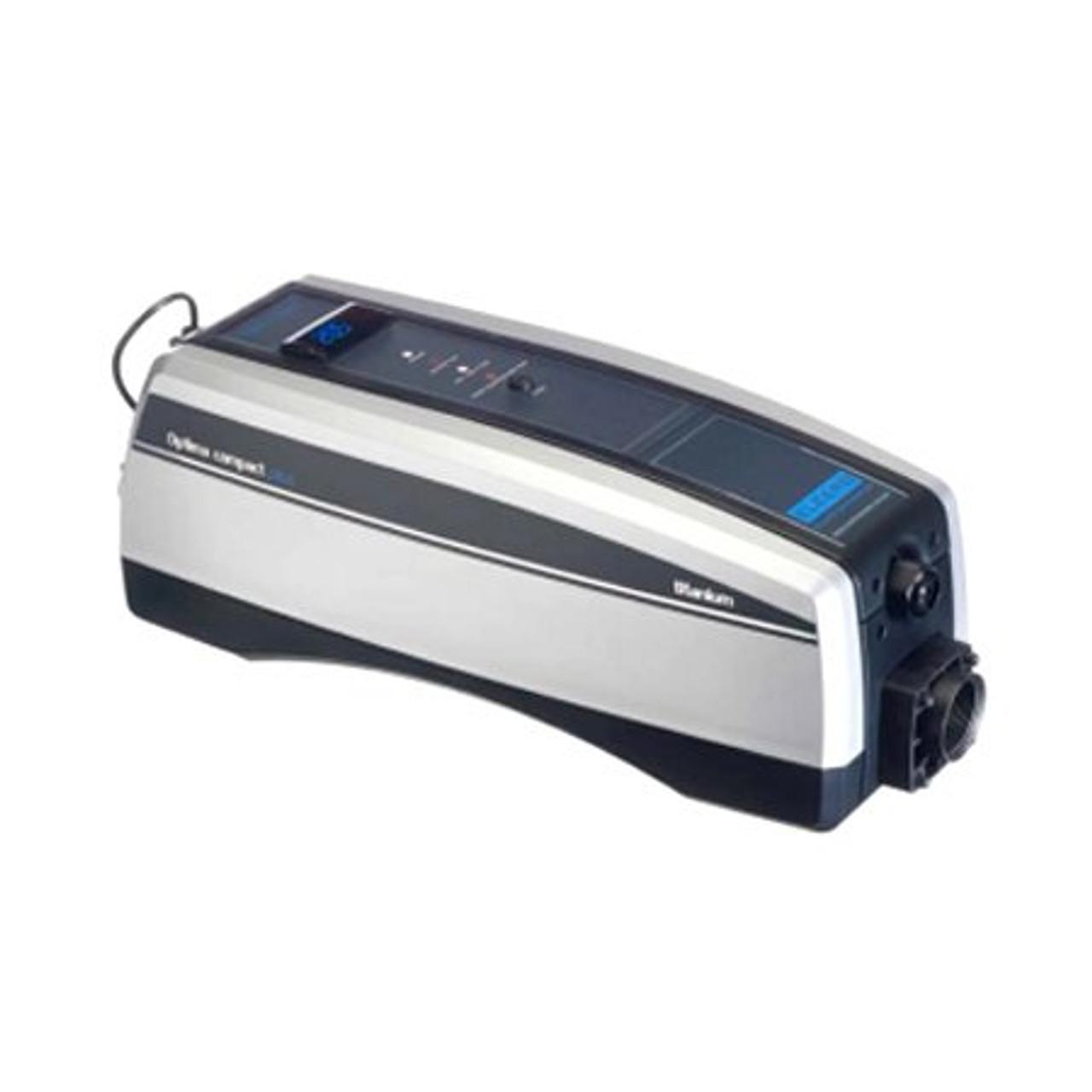 "Optima Titanium In Line Heater, 6kW,220V 1 Phase, 27 Amps, 23"" X 6"" X 8.5"" (HTIO-6-220"