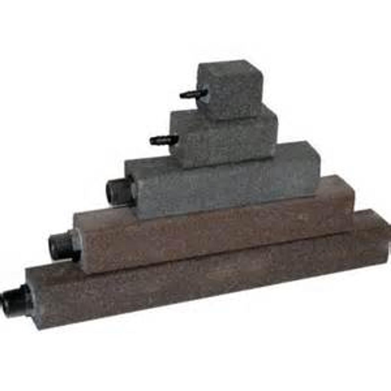 """Alumina Airstone, 1-1/2"""" X 3"""", 1/4"""" Hose Barb, 0.3 CFM (AS325)"""