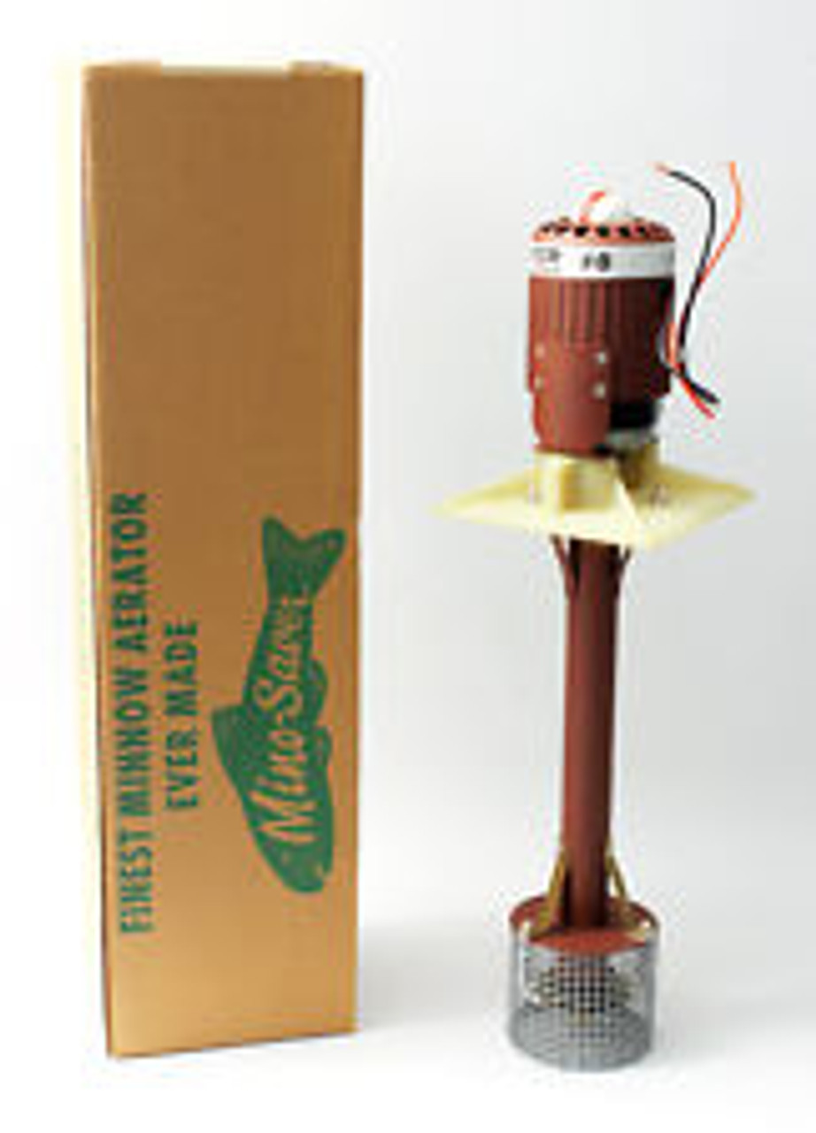 The Original Minnow Saver # 8 Aerator, 12-Volt Air-Jet Agitator Aerator (Mino Saver # 8 Aerator)