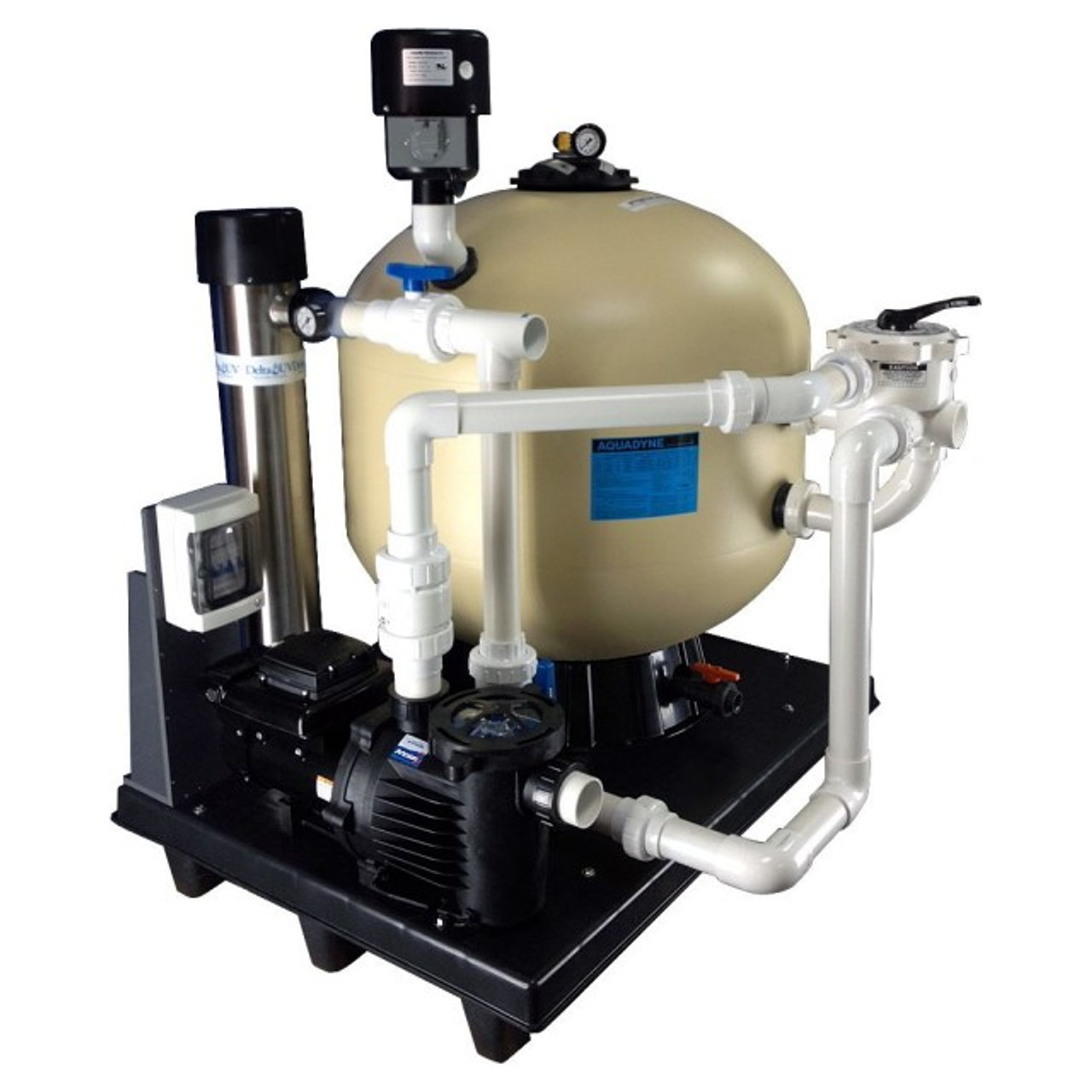 Aquadyne AD8000 Plug & Play Skid Mounted Filtration System, (PNPAD8000