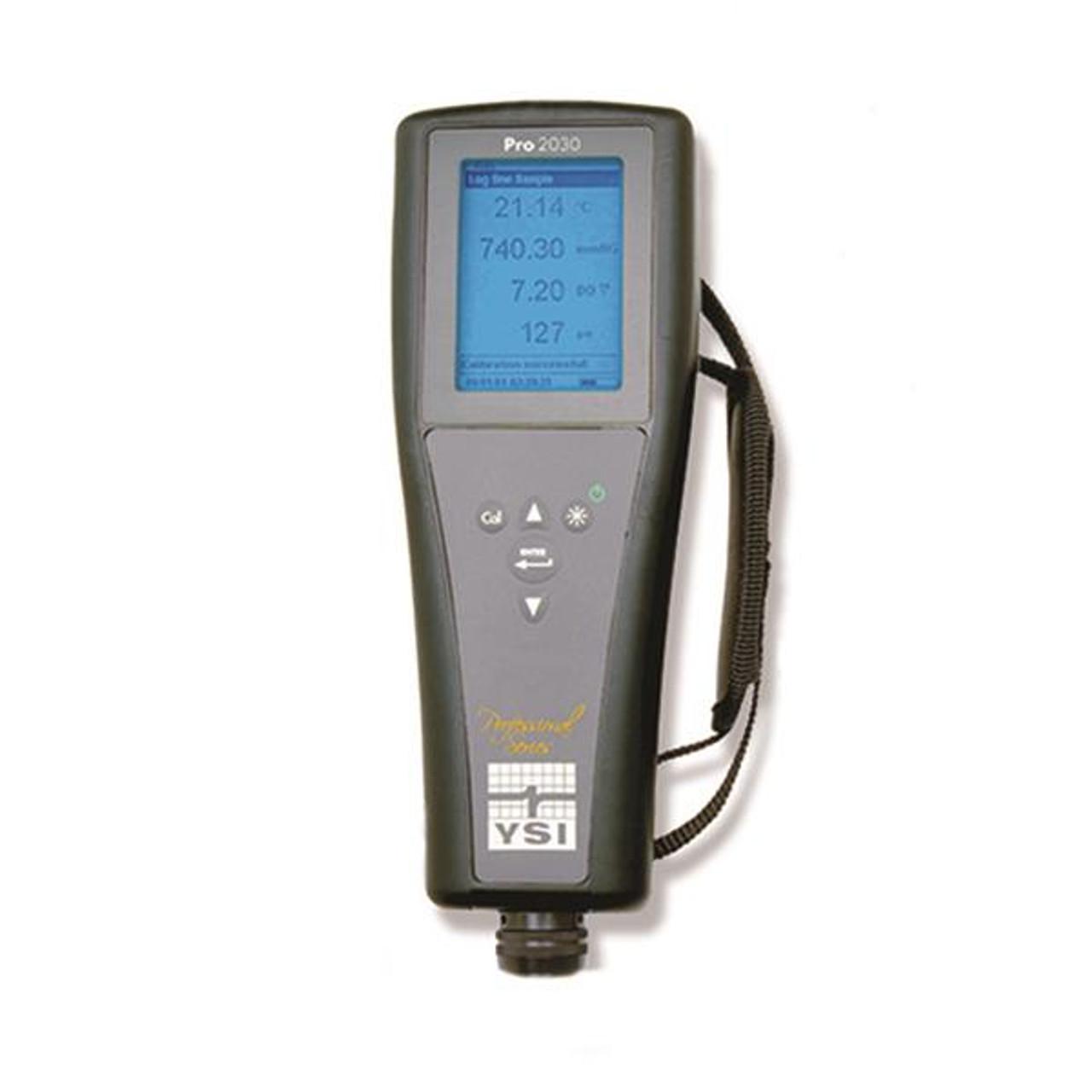 YSI Pro2030 Dissolved Oxygen, Conductivity, Salinity Instrument, (6052030)