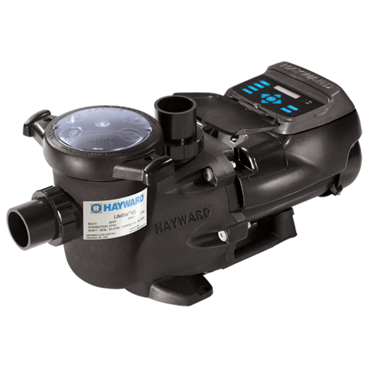 Hayward LifeStar VS Aquatic Pump, 2HP, 230V, 1Phase Variable Speed TEFC (1A3SES46VS)
