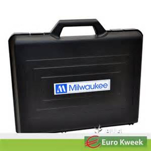 "Milwaukee MA750, Hard Carrying Case (Thin Brief Case Size) with Interior Padding & Cut Outs for 2 ""MW"" Units or for 1 MW600 DO Meter, (MA750)"
