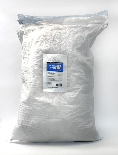 Aquatic Solutions, Bituminous Activated Carbon 4 x 8 Pellet, 15 lb Bag. (ASAC-15)