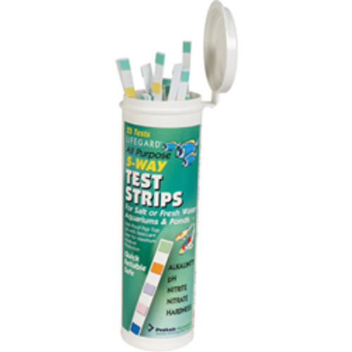 Lifegard Aquatics 5 Way Test Strips For Fresh or Salt Water