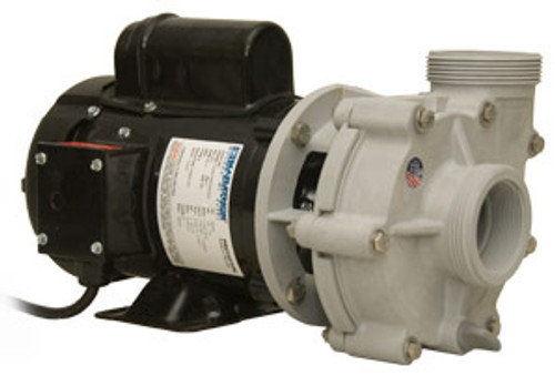 """Sequence® Model 4000 Series, 3600 GPH, 20.5' Max Head, 1/8HP, 115VAC, 227 Watts, 2.3 Amps, 2"""" In/Out, 8' Cord (3600SEQ20)"""