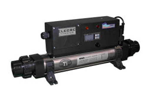 "AquaLogic In Line Titanium Heater 4kW, 220VAC, 1 Phase, 18 Amps, 23"" X 6"" X 8.5"" (HTI-4-220)"