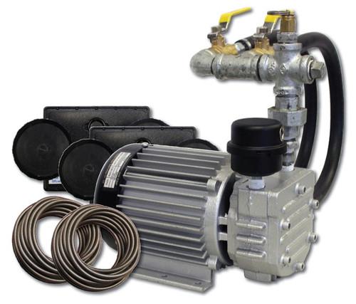 "1/2 HP Rotary Vane Compressor, 115V, 2.6 Amps 60 hz, 9.6"" L X 7.3"" W X 7.4"" H (MRV-60)"