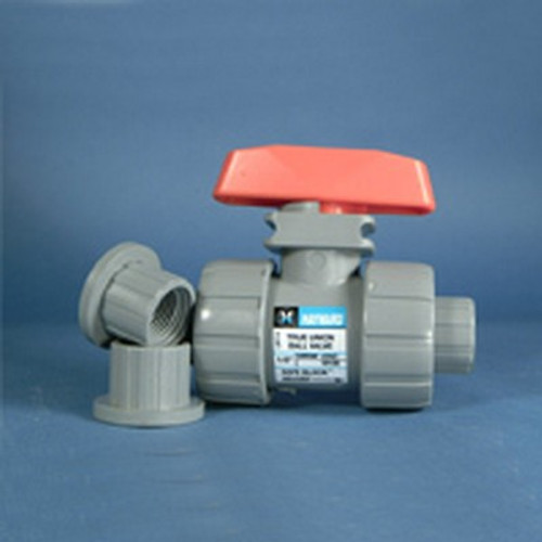 "Hayward 2"" Threaded CPVC TB Series True Union Ball Valve with EPDM O-Rings (TB2200STE"