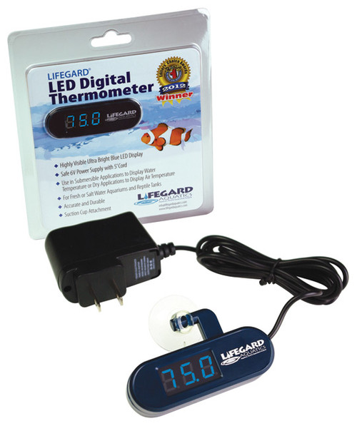 Lifegard Aquatics LED Digital Thermometer (R270780