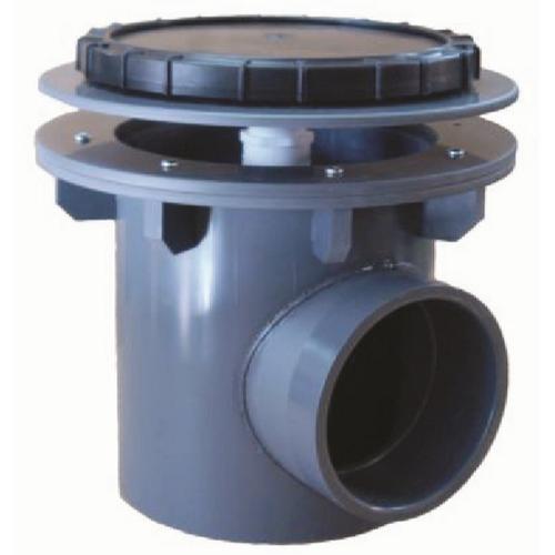 """Rhino II 6 """" Industrial size drain w/ air (RH2-IA6)"""