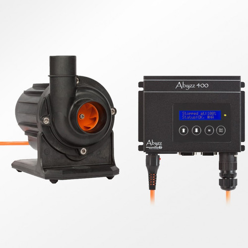 Abyzz A400 4,800 GPH Controllable DC Pump, 10 Meter