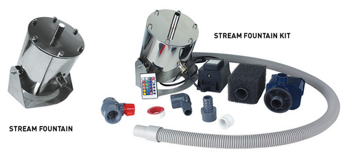 Lifegard Remote Control LED Stream Fountain Kit With pump. (R441026)