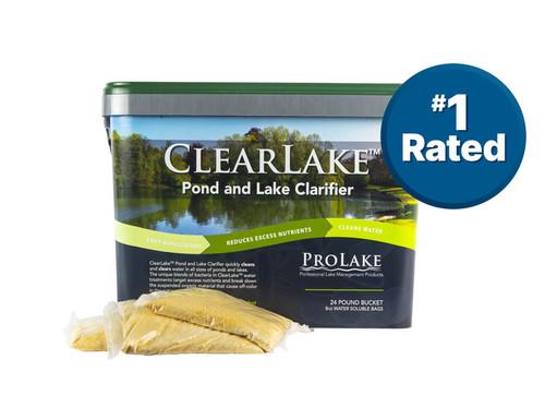 ClearLake™ Pond & Lake Clarifier WSP, 1 - 24 lb. Bucket, Formerly Aquatron (40.8105)