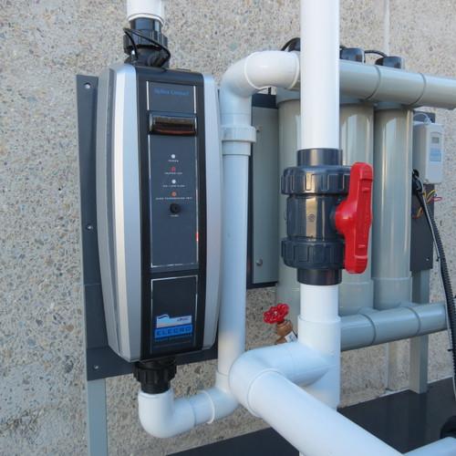 Optima Plus Titanium Inline Heater 12kw, 220V, 1 Phase (HTIO-12-220)